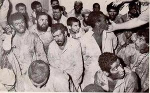 Juhayman's Officers:  Juhayman and 67 members of his group were subsequently beheaded by the Saudi Government.